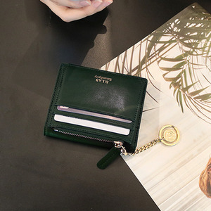 D.LAB Coin name card wallet  - Green - 디랩 D.LAB