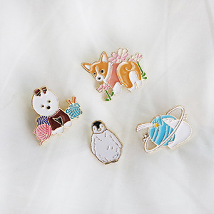 D.LAB Animal Badge - 4 Type - 디랩 D.LAB