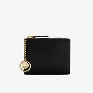 D.LAB Coin Half wallet  - Black - 디랩 D.LAB