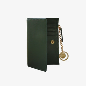 D.LAB Coin card wallet - Green - 디랩 D.LAB