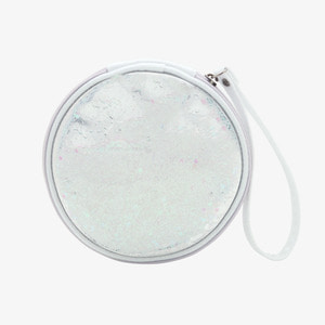 D.LAB Glue Pearl Pouch - White - 디랩 D.LAB