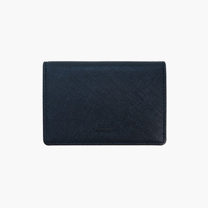 D.LAB Basic Leather Namecard wallet - Navy - 디랩 D.LAB